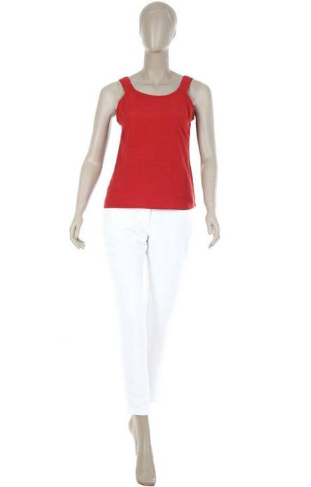 Caravan Craft Red Muslin Camisole