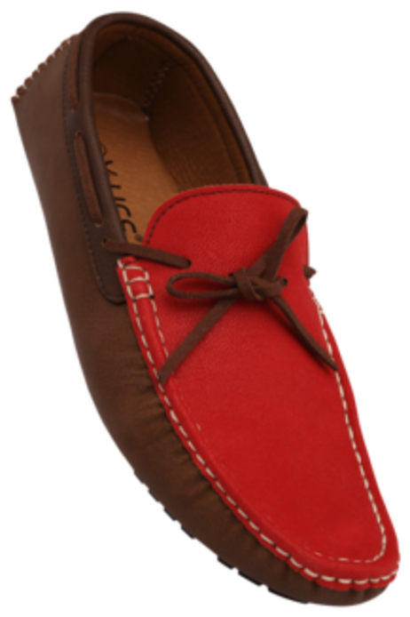Life Red Casual Loafers