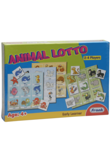 Frank Unisex Early Learner Animal Lotto Board Game