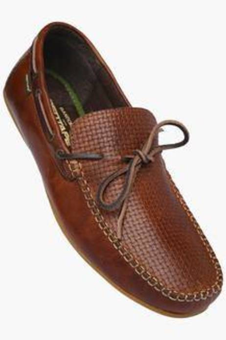 Red Tape Brown Casual Loafers