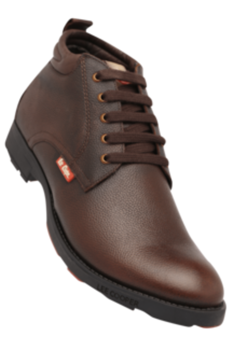 Lee Cooper Brown Casual Boots