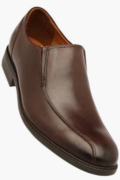 Clarks Brown Mix Formal Formal Shoes