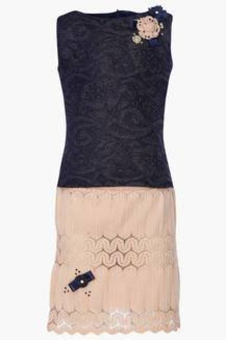Tiny Girl Girls Blended Lace Skirt And Top Set