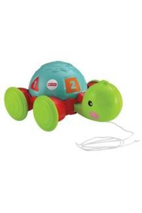 Fisher Price Babies Multicolour Pull-Along Turtle