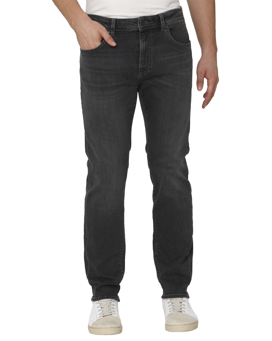 Selected Men Grey Jeans