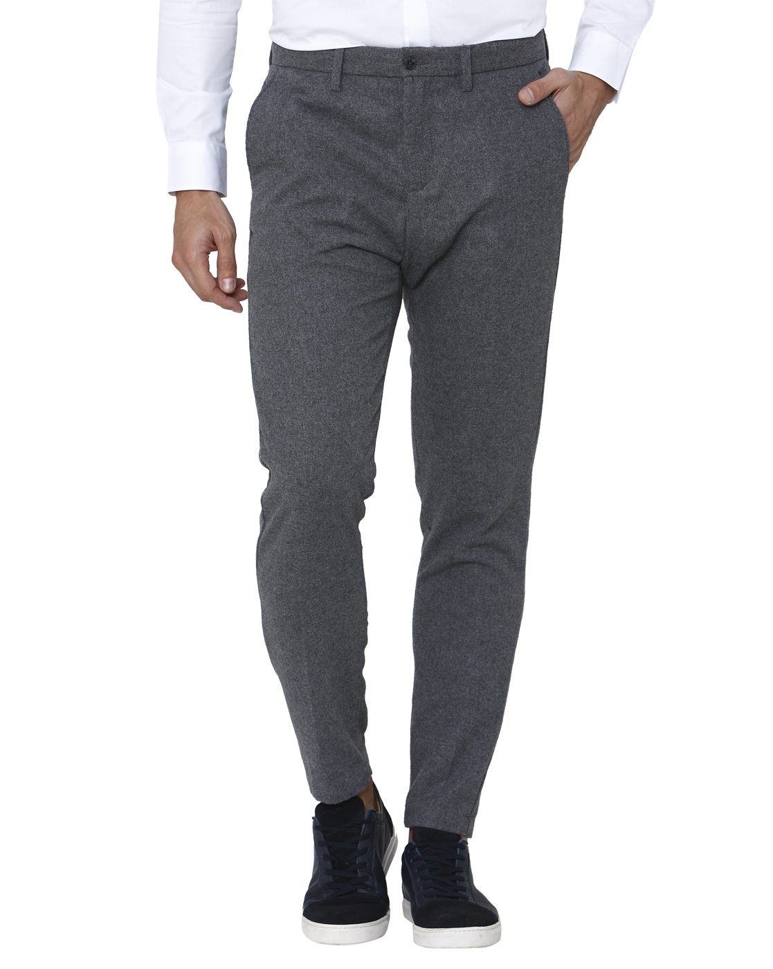 Selected Men Grey Trouser