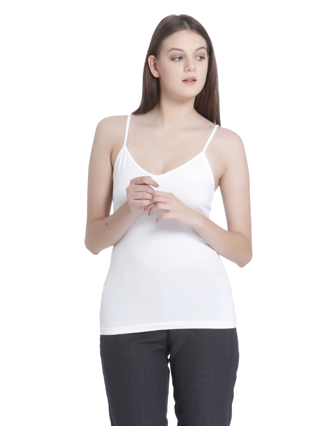 Vero Moda Women White T- Shirt